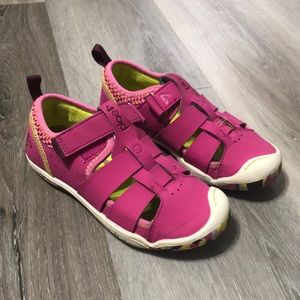 Plae Sam 2.0 Fisherman Sneaker Sandals Fuschia 3